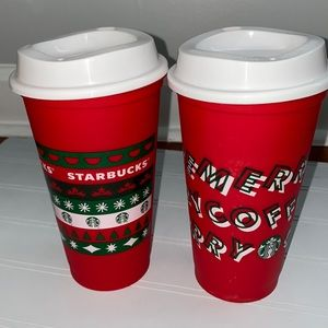 Limited Edition Starbucks Holiday Cups